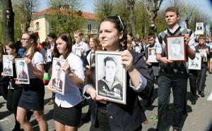Празднование 70-летия Великой Победы в Шкловe